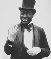 "Bert Williams In ""Black Face"""