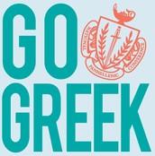 Panhellenic says GO GREEK!