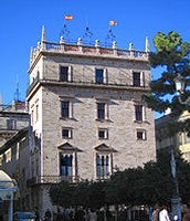 Palacio de la Generalidad, símbolo del autogobierno valenciano.
