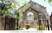 St. John's Cathedral (Belize City, Belize -Central America)