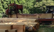 We have a portable sawmill so you can come to us or we can come to you!!  Give us a call today.