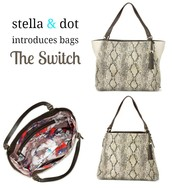 The Switch Bag - Snake Skin