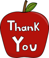 Teacher Appreciation Thank you!
