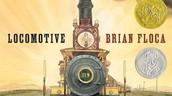 Locomotive, by Brian Floca (2014 winner)