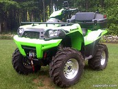 This Fourwheeler is available!