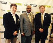 Mayors Nick Jones, William Bell, and Tommy Battle at the Physical Activity Summit