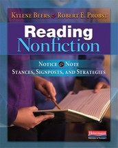 Book Review: Reading Nonfiction - Notice & Note Stances, Signposts, and Strategies
