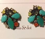 Naomi Cluster Earring