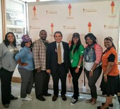 Dr. Hinojosa visits Pinkston High School