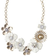 Dot Bloom Statement Necklace