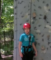 Chance is ready to climb!