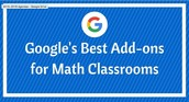 Google Add-ons for Math