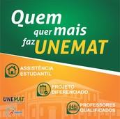 Bem-vindo à família Unemat!