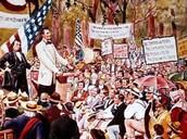 Lincoln-Douglas Debate Aug. 21, 1858-Oct. 15, 1858