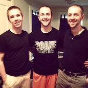 Sons Matt and Nick (with D.J.)!