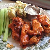 Appetizer - Spicy Baked Buffalo Wings
