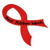 Red Ribbon Week October 26 - 30