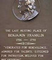 The Death of Benjamin Franklin