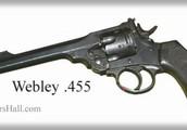 The Webley Caliber .455 Revolver