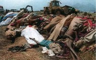 Some bodies from the Rwanda Genocide
