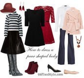 HOW TO DRESS AND PEAR SHAPED BODY: