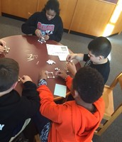 Student Taking the Dome STEM Challenge