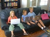 negatives of children and screentime