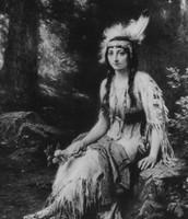 Pocahontas as a child