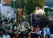 Procession of San Juan Bautista