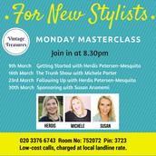 Monday Masterclass 8.30pm