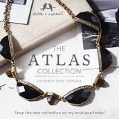 "Our October capsule collection ""Atlas"" is here!"