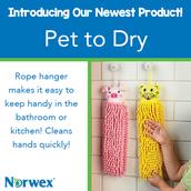 Pet to Dry Kid's Handtowel