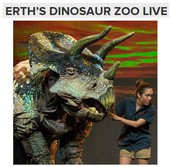 Friday, October 7th - Erth's Dinosaur Zoo Show - MESA