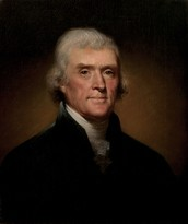 Official Presidential Portrait of Thomas Jefferson