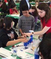 FLUOR Engineering Challenge Captures Medrano MS Students' Creativity