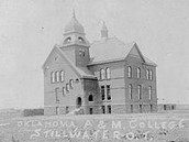 Old Central at Oklahoma A&M, 1894