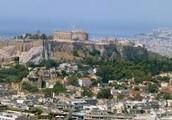 Athens , Greece map