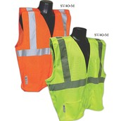 Class 2 / Level 2 Orange Breakaway Safety Vest