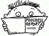 Ask your learners for 6wk progress reports