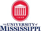 #1 University  of Mississippi
