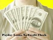 Payday Loan No Credit Checks