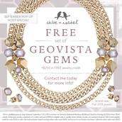 Geovista-- September Hostess Gift