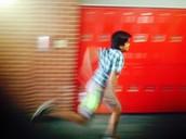 Kishore running