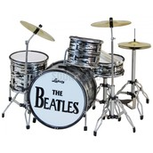 The drums that Ringo played