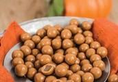 White Chocolate Pumpkin Caramels