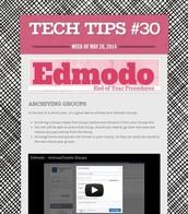 Edmodo Archiving