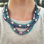 SOLD: Mercury Necklace $80
