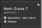 Click on 7th Grade Math