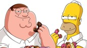 Family Guy And The Simpsons!