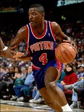 My old time favorite Joe Dumars